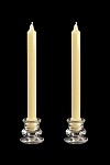 10 inch Colonial Candles in a variety of colors