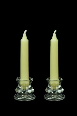 6 inch Colonial Candles in a variety of colors
