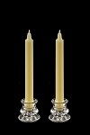 8 inch Colonial Candles in a variety of colors