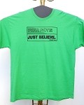 2 XL Christian T-Shirt: Fear Not: Just Believe.